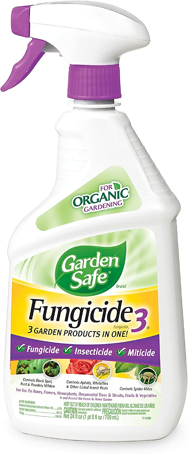 Garden Safe Brand Fungicide3, Ready-to-Use, 24-Ounce, 6-Pack