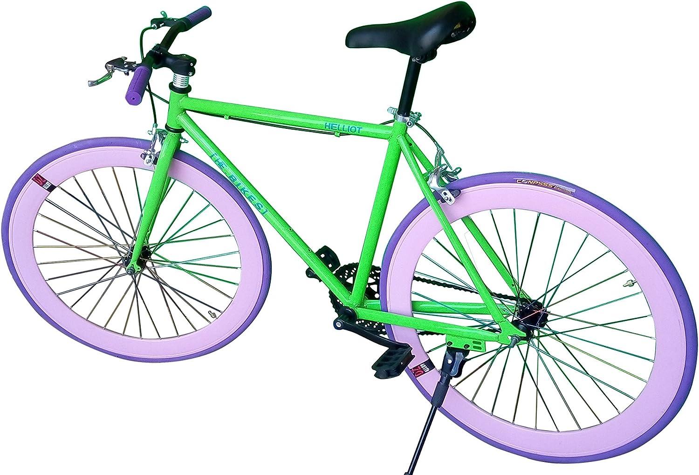 Fixie Helliot Fixie Brooklyn H38 Bicicleta Urbana, Hombre, Verde ...