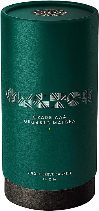 OMGTea 14 Serving Pack - Bolsitas de polvo de té verde orgánico ...