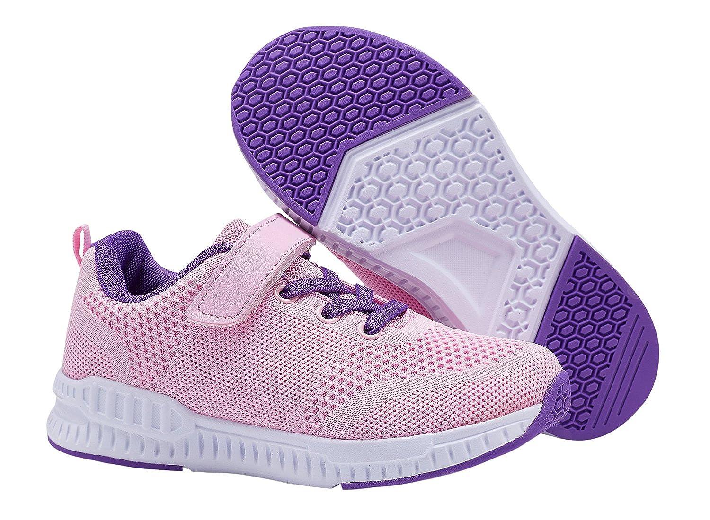 Casbeam Toddler Kids Velcro Sneakers Boys and Girls Walking Running Shoes
