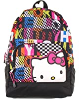 Backpack - Hello Kitty - Colorblock Large School Bag