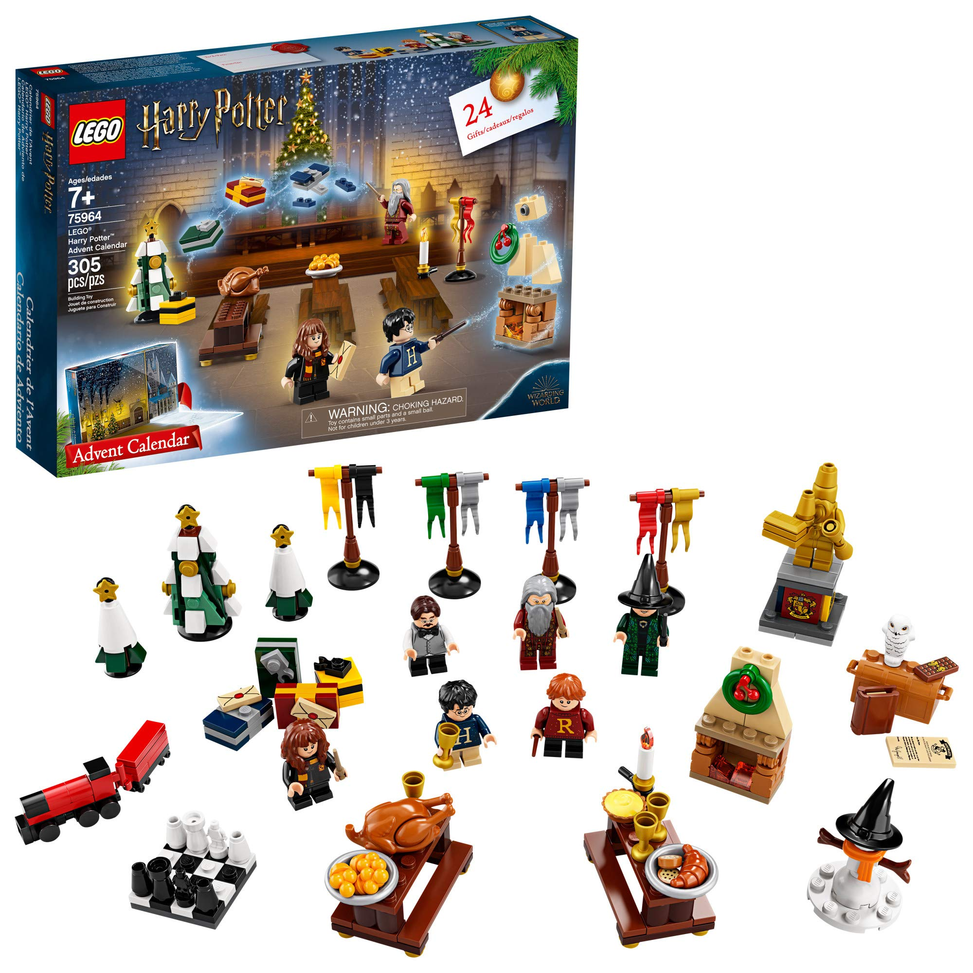LEGO Harry Potter Advent Calendar 75964 Building Kit, New 2019 (305 Pieces) by LEGO
