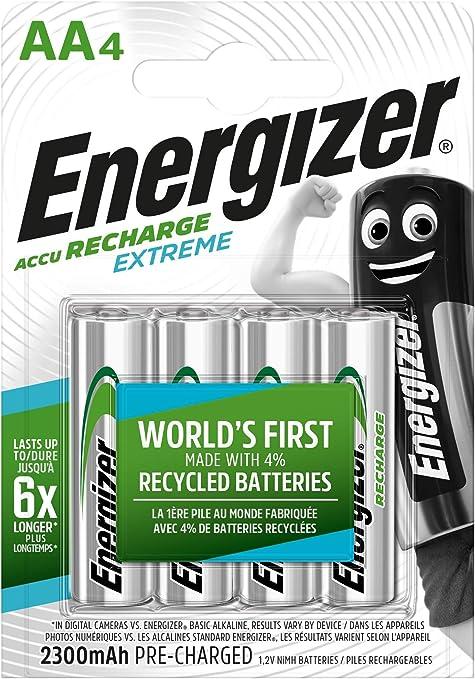 Energizer Akku Aa Recharge Extreme Akkus 4 Stück Elektronik