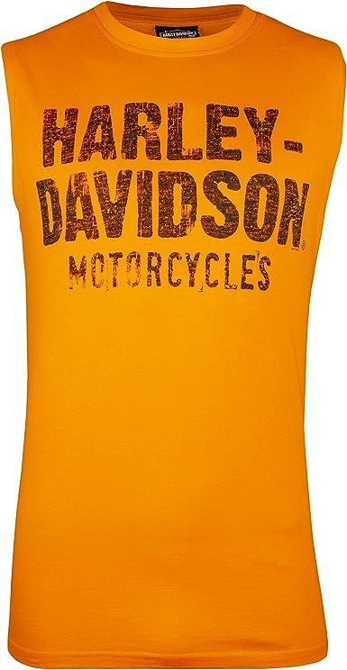 Harley-Davidson Mens Bar /& Shield Muscle Shirt Tank Top Charcoal Tee 30296624