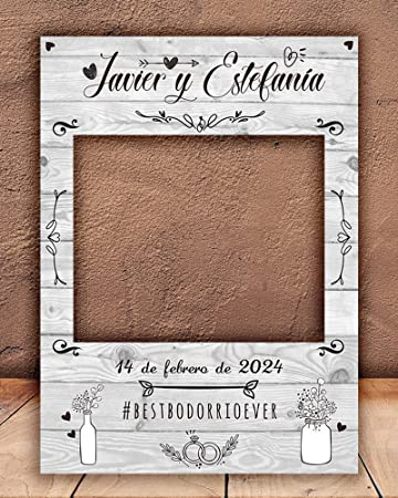setecientosgramos Photocall White| Ventana White| Marco White| PhotoBooth White(Cartón 4mm) (90 x 120)