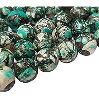 Perlin Piedras Preciosas Cuerda Turquesa Mosaico Piedras Piedras