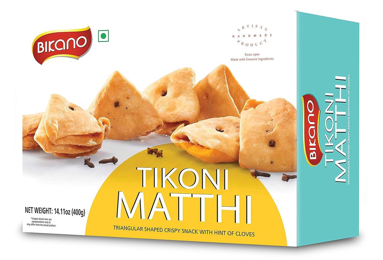 Bikano by Bikanervala Tikoni Mathi Matthi, Indian Snack, 200g