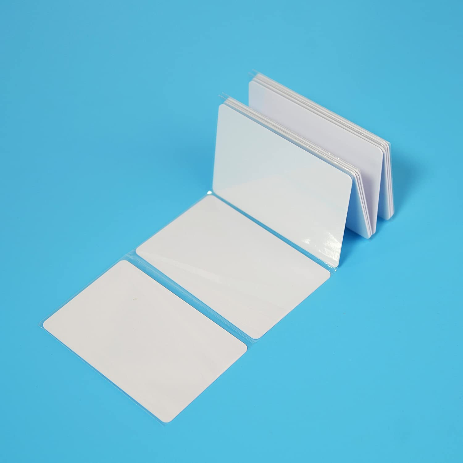 40pcs a Pack NTAG215 Compatible with Amiibo and TagMo NFC Card Blank PVC ISO Card NFC Tag by TimesKey Works with Android and All Phone NFC Enabled