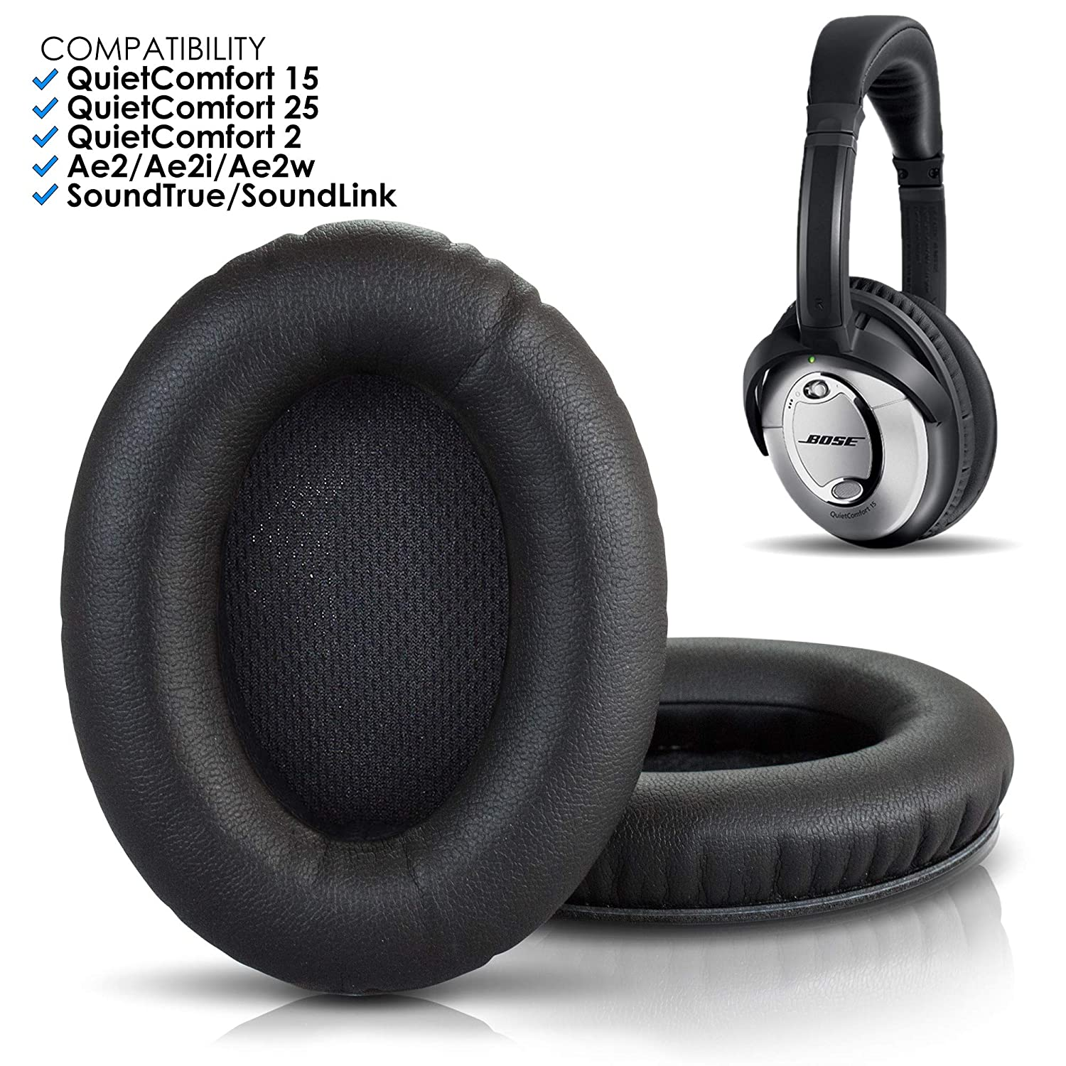 Prima Amazon.com: Wicked Cushions Premium Bose Headphones Replacement WB-48