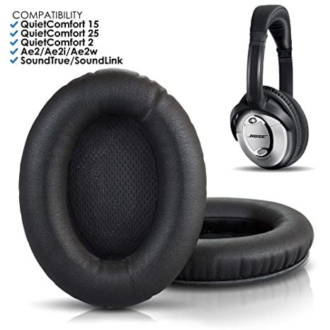 ad4fb31972f Wicked Cushions Bose Headphones Replacement Ear Pads - Compatible With  QuietComfort 15 / QC15 / QC25 / QC2 / QC35 / Ae2 / Ae2i / Ae2w / SoundTrue  ...