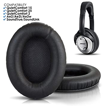 Wicked Cushions Bose Headphones Replacement Ear Pads Compatible With Quietcomfort 15 Qc15 Qc25 Qc2 Qc35 Ae2 Ae2i Ae2w Soundtrue