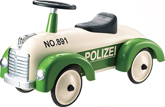 Bobby Car Polizei Alternative - Retro Rutschauto Polizei