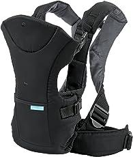 Infantino Flip Portabebés Front 2 Back, color negro