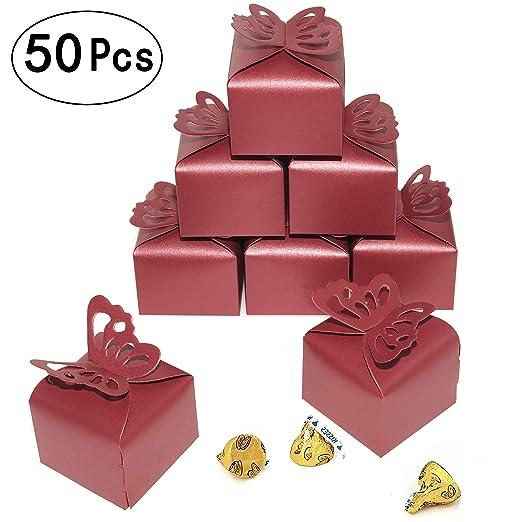 Cajas de regalo de caramelos para fiesta de boda, pequeñas ...