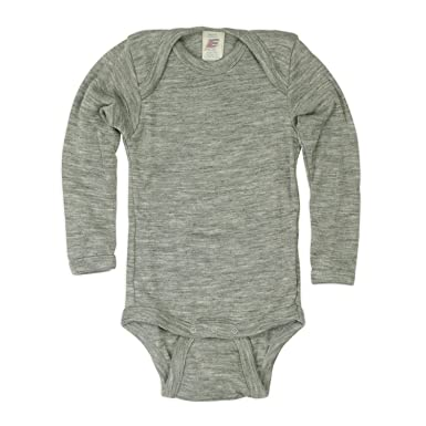ec8c9db0f Amazon.com: Engel Merino wool silk baby newborn BODY bodysuit t-shirt:  Clothing