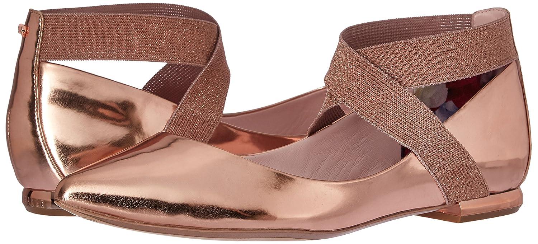 Ted Baker Women's Cencae Lthr Af 6.5 Shoe Ballet Flat B01LXNX0VW 6.5 Af M US Rose Gold ec5bed