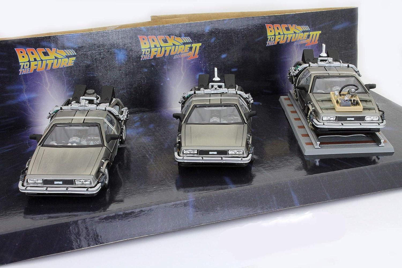 Delorean DMC-12 Back to The Future 3 Car-Set 1 43 SunStar