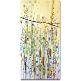 """Toi Et Moi by Sylvie Demers Wall Hanging, 10"""" x 19"""" Canvas Wall Art"""