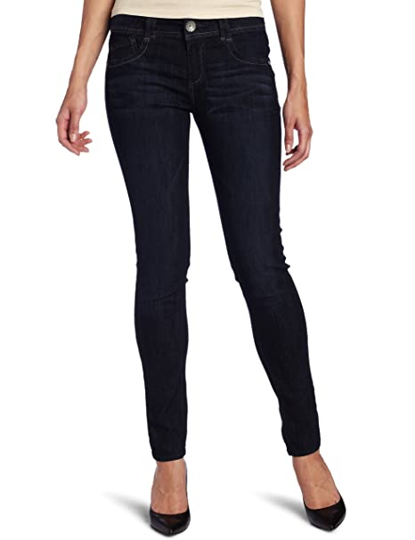 Amazon.com: Democracy Mujer, 31 inch entrepierna Skinny ...