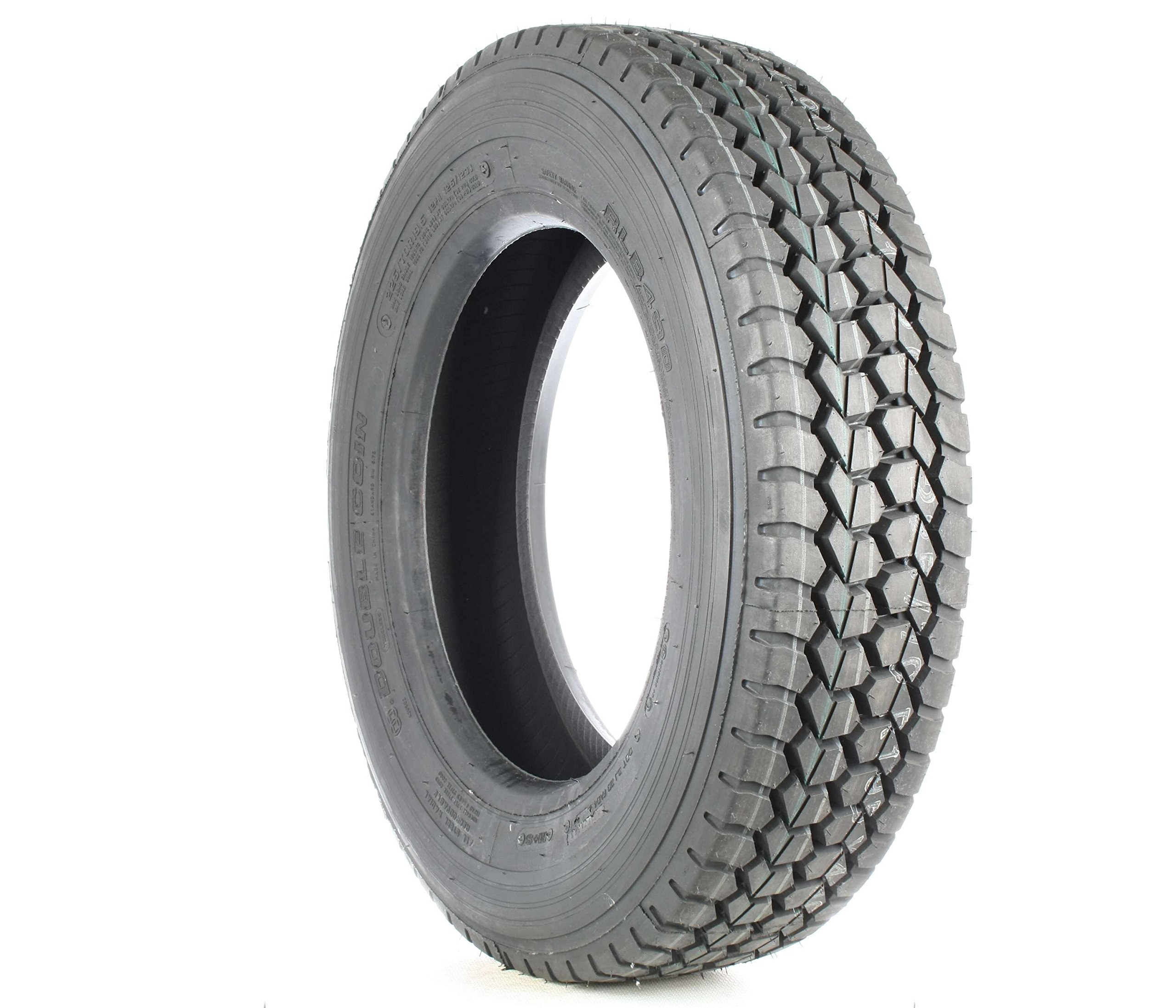 Double Coin RLB490 Low Profile Drive-Position Multi-Use Commercial Radial Truck Tire - 225/70R19.5 12 ply by Double Coin (Image #1)