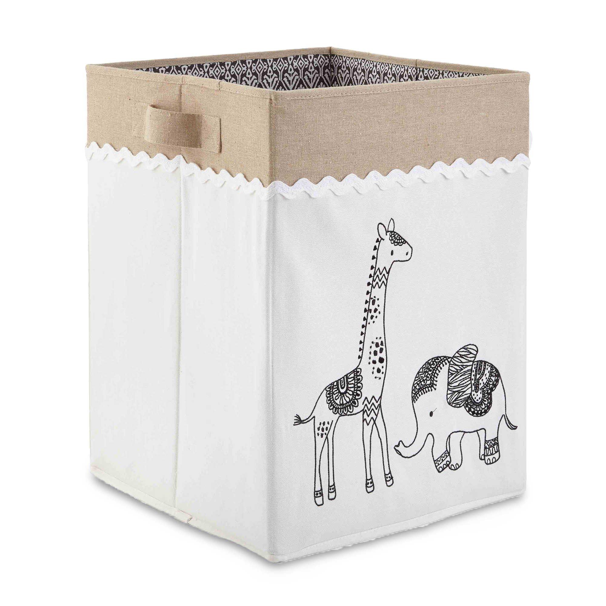 Levtex Baby Animal Sketch Hamper