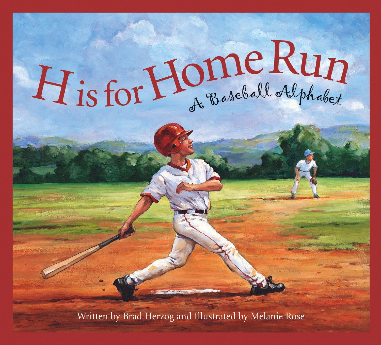 h is for home run a baseball alphabet sports alphabet brad