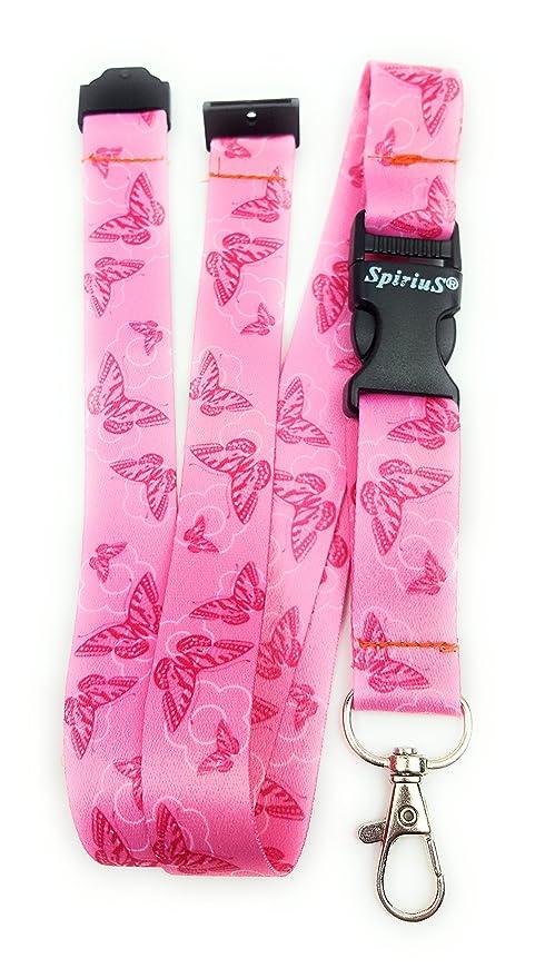 22d629776 Spirius - Correa de cuello para tarjetas de identificación y llaves,  diseño