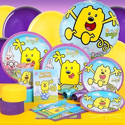 Amazon.com: WOW WOW Wubbzy Standard Party Pack para 8 ...