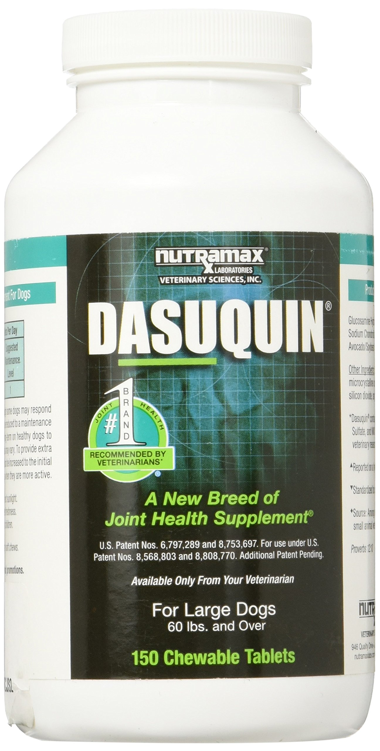 Dasuquin Chewable Tablets for Large Dogs 150ct