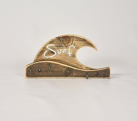 05 Art Deco. CUELGA Llaves Ola Surf Wave Llavero Vintage ...