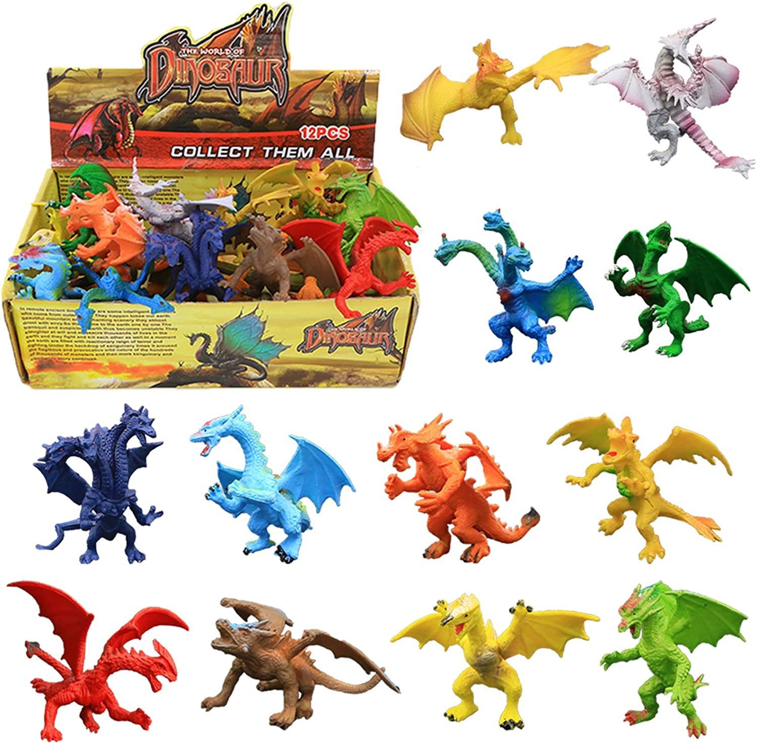Dragonlings Cute Dragons Dark Legends Crystal Dragon figures new small gifts