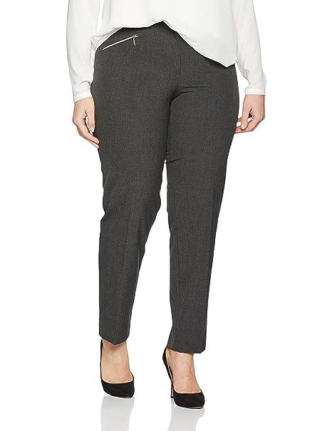a9d0171e5 Ulla Popken Women s Plus Size Zipper Pocket Comfort Fit Pants 707425  Ulla  Popken  Amazon.co.uk  Clothing