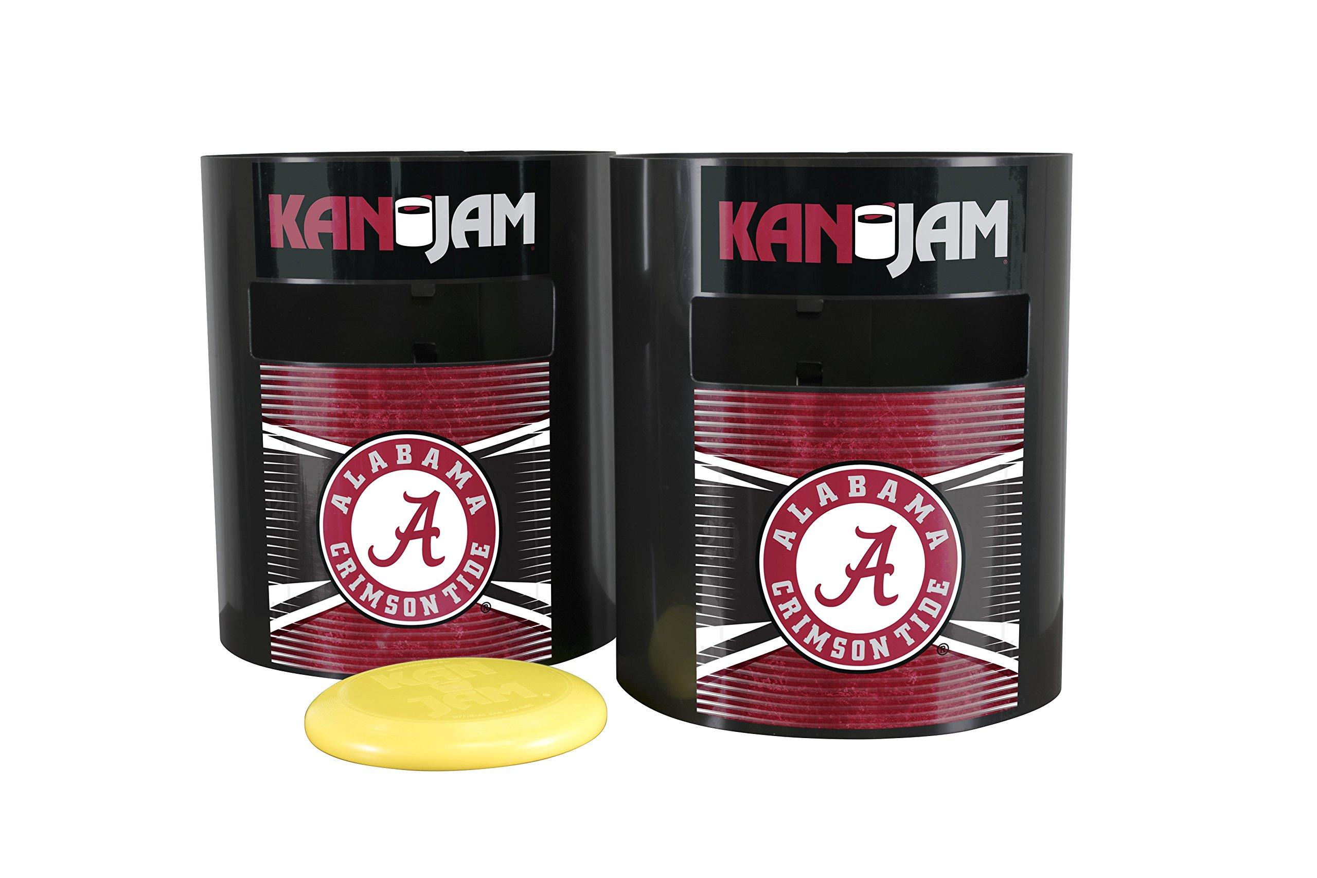 Kan Jam NCAA Alabama Crimson Tide Disc Gamealabama Crimson Tide Disc Game, Team Color, 11.875'' x 20'' x 9''