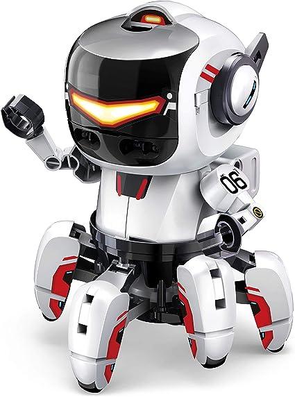 Amazon Com Elenco Ttc 894 Mb Teach Tech Tobbie Ii Bbc Micro Bit Robot Stem Educational Toys For Kids 10 By Elenco Ttc 894 Mb Toys Games