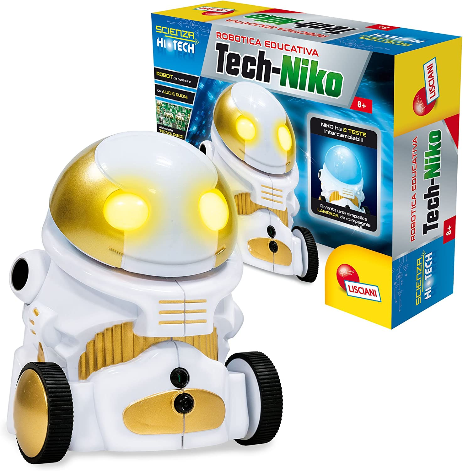 Hypocrite detection Whichever  Amazon.com: Lisciani Giochi 66926.0 – Science Hi tech-niko: Toys ...
