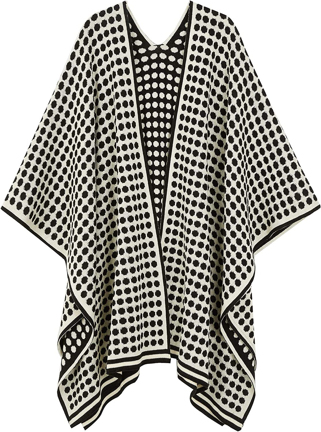 Large Cross Front Poncho...