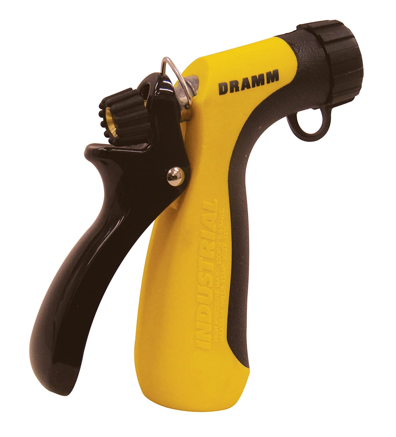 Dramm 12743 Industrial Hot Water Pistol, Yellow