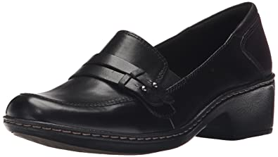 Rockport Cobb Hill Women's Deidre Slip on Loafer, Black, ...