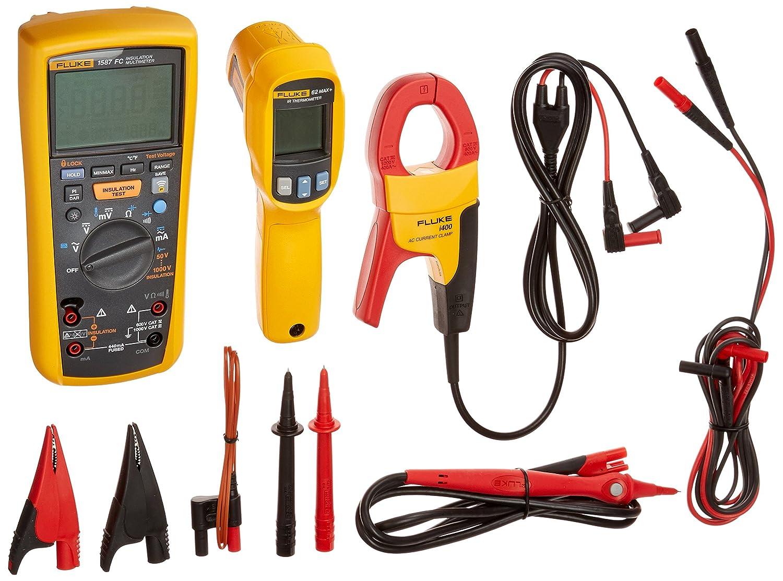 2/in1 Fluke Industrie 1587/Kit//62MAX elektrische Fehlersuche FC Isolierung Multi-Kit Advanced