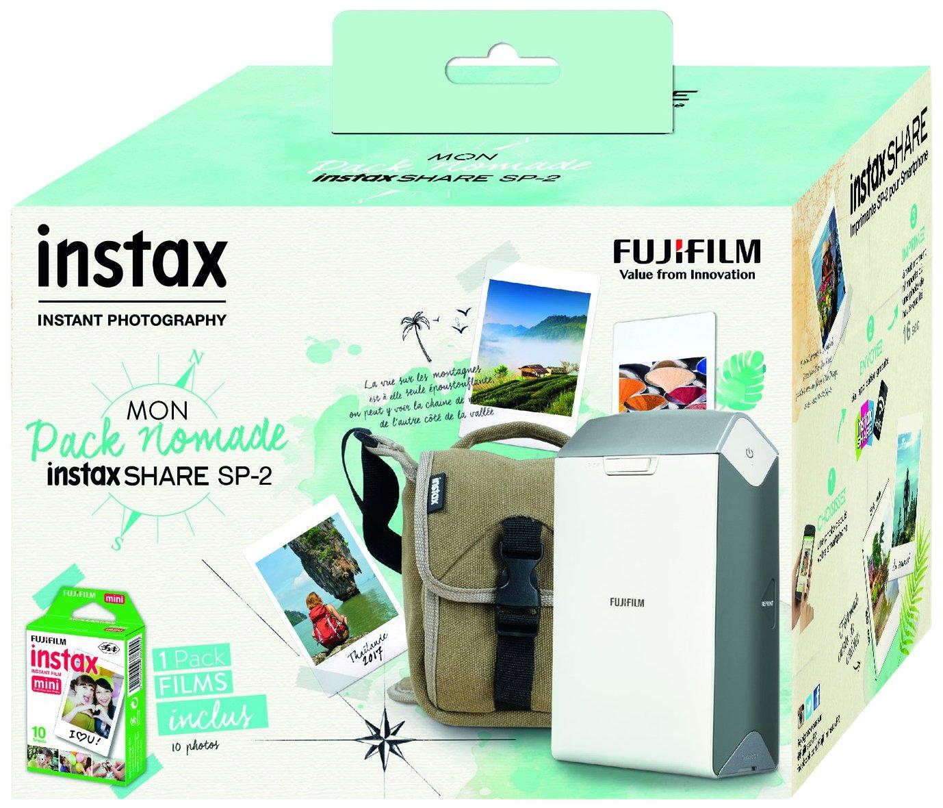 Fujifilm Instax Share SP-2 Silver EX D - Impresora para Smartphone, Plata 16522218