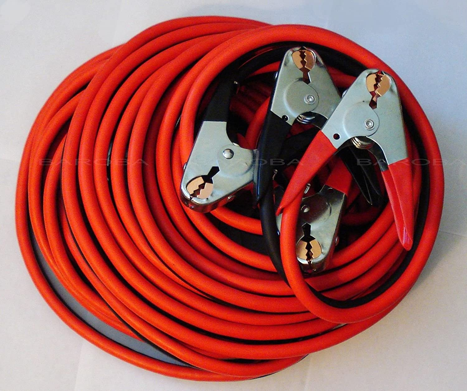 PAKA Tools Industrial Heavy Duty 30 feet 1 Gauge Booster Jumper Cable