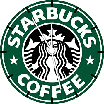 """Ikea Starbucks café Reloj de Pared 10 """"Niza Regalo y habitación decoración de la"""
