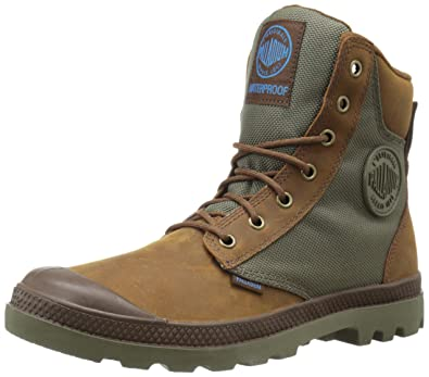 Palladium Unisex-Erwachsene Pampa Sport Cuff Wpn Combat Boots Braun