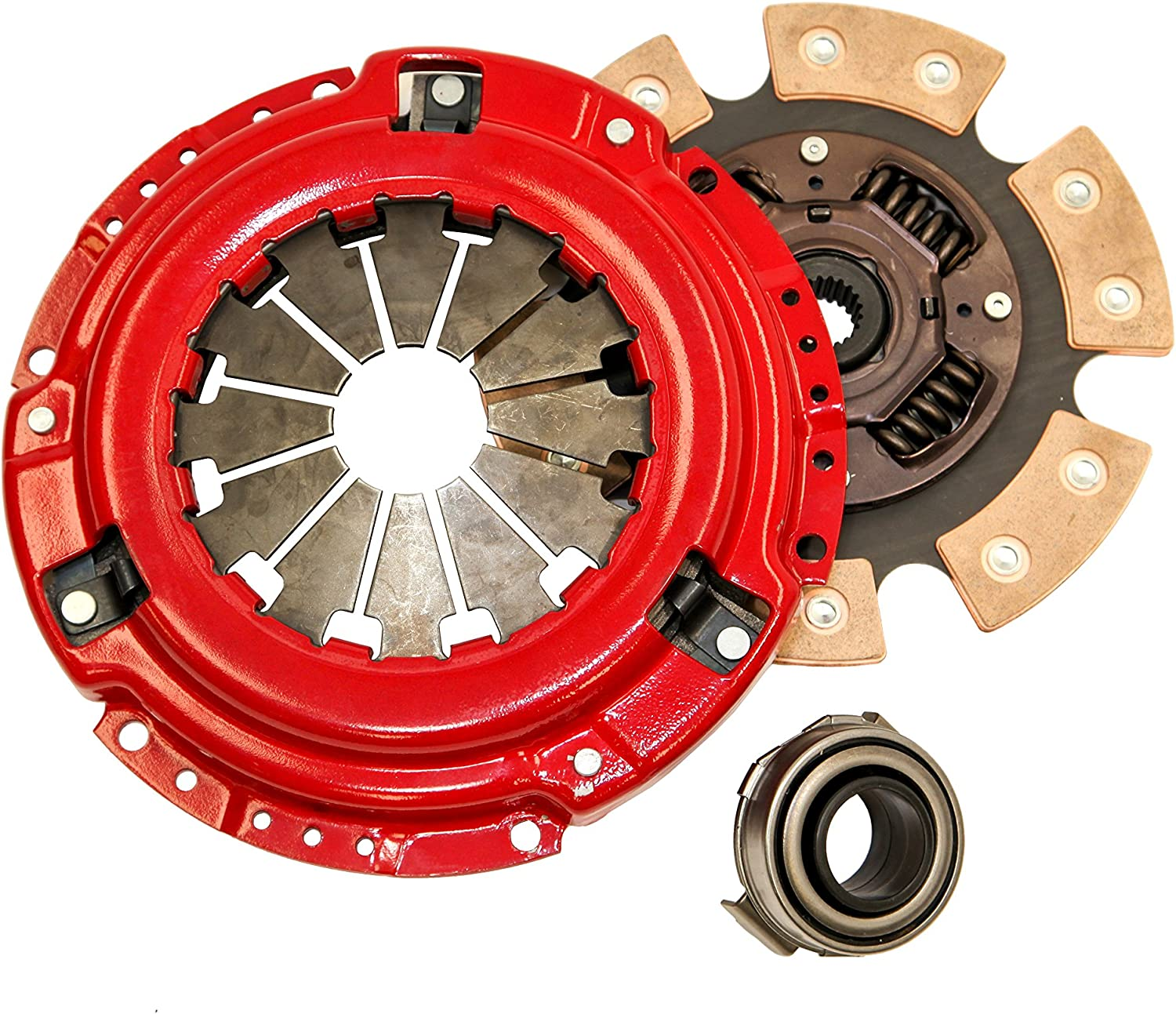 Yonaka D Series 6 Puck Stage 3 Performance Heavy Duty Clutch Kit Set Ceramic Disc D15 D16 D17