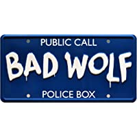 Doctor Who | BAD WOLF | Metal Stamped