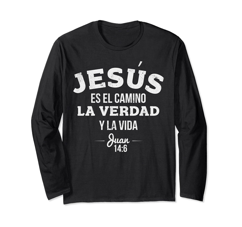 Camisas de manga larga de Jesus para los Cristianos-fa
