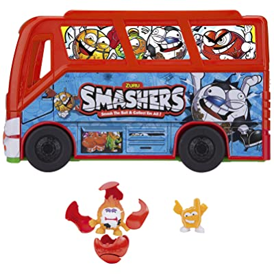 Smashers – Football Bus with 2 Figures, (Famous 700014384): Toys & Games