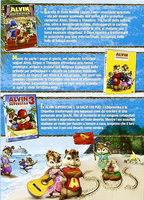 Amazon.com: Alvin Superstar Collection (3 Dvd): jason lee ...