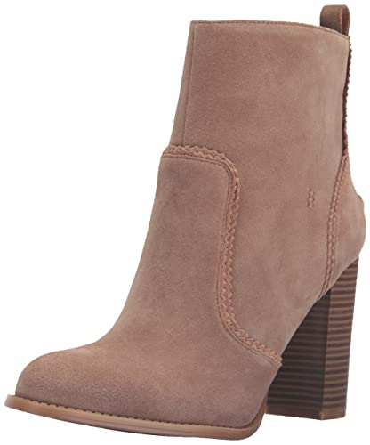 Nine West Women's Quicksand Suede Boot Natural