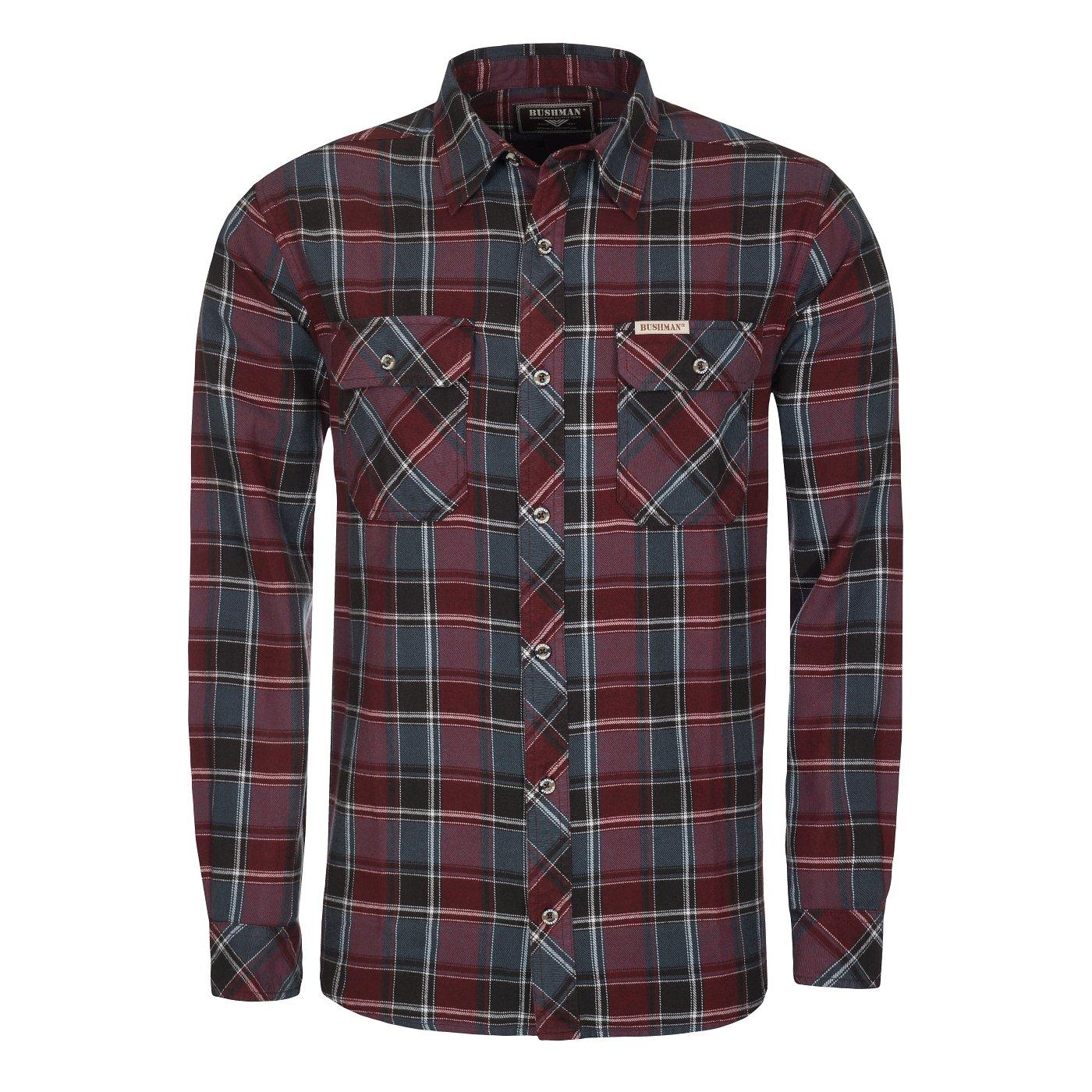 Bushman Outfitters Herren Long Sleeve Langley Shirt